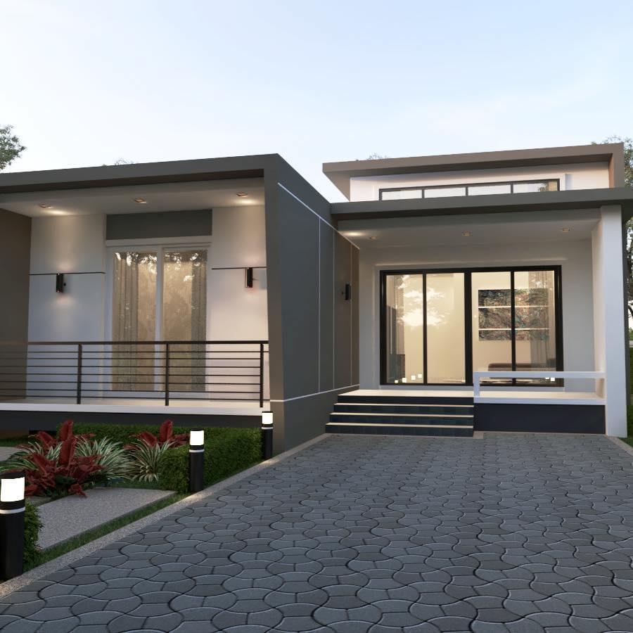รับออกแบบบ้านระยอง