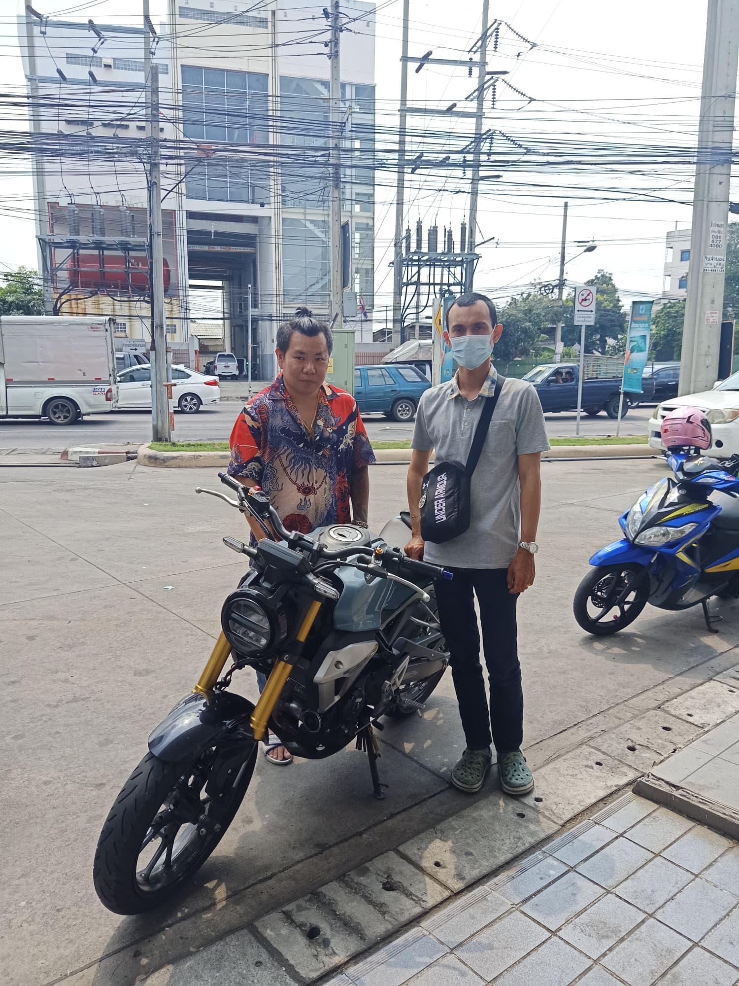 รับซื้อCB150R นนทบุรี