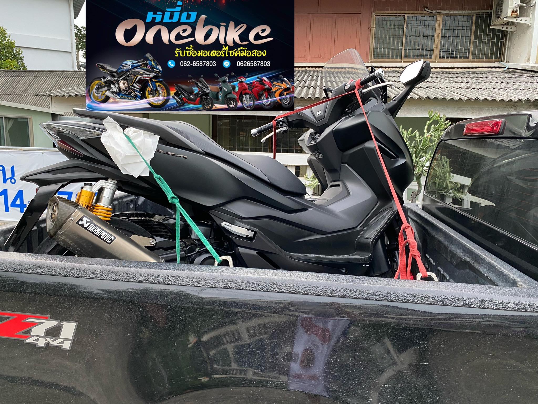 ONEBIKEรับซื้อรถมอเตอร์ไซค์ FORZA300